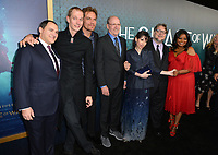 Michael Stuhlbarg, Doug Jones, Michael Shannon, Richard Jenkins, Sally Hawkins, Guillermo del Toro &amp; Octavia Spencer at the Los Angeles premiere of &quot;The Shape of Water&quot; at the Academy of Motion Picture Arts &amp; Sciences, Beverly Hills, USA 15 Nov. 2017<br /> Picture: Paul Smith/Featureflash/SilverHub 0208 004 5359 sales@silverhubmedia.com