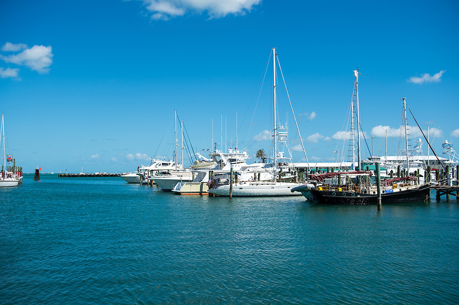 View of the Key West Marina