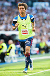 Eibar FC's player Takashi Inui during a match of La Liga Santander at Santiago Bernabeu Stadium in Madrid. October 02, Spain. 2016. (ALTERPHOTOS/BorjaB.Hojas)
