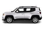Car Driver side profile view of a 2019 JEEP Renegade Latitude 5 Door SUV Side View