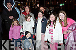 RESOLUTIONS: Ringing out the old year in The Square, Tarbert, on Sunday night
