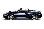 Car driver side profile view of a 2019 Porsche 718 Boxster Base 2 Door Convertible