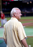 Walt Jocketty / Cincinnati Reds General Manager at Chase Field, Phoenix, AZ - 09/12/2008..Photo by:  Bill Mitchell/Four Seam Images
