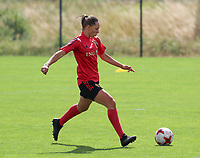20200627 - TUBIZE , Belgium : Louise Wijns is pictured during a training session of the Belgian Red Flames U17, on the 27 th of June 2020 in Tubize.  PHOTO SEVIL OKTEM| SPORTPIX.BE