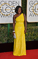Viola Davis at the 74th Golden Globe Awards  at The Beverly Hilton Hotel, Los Angeles USA 8th January  2017<br /> Picture: Paul Smith/Featureflash/SilverHub 0208 004 5359 sales@silverhubmedia.com