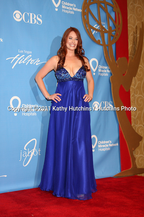 LAS VEGAS - JUN 19:  Melissa Archer in the Press Room of the  38th Daytime Emmy Awards at Hilton Hotel & Casino on June 19, 2010 in Las Vegas, NV.