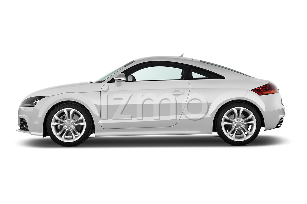Driver side profile view of a 2008 - 2010 Audi TTS 3 Door Coupe 2WD