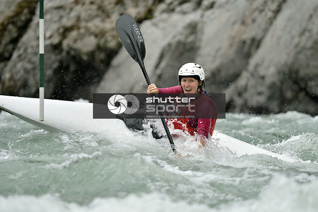 MURCHISON, NEW ZEALAND - FEBRAURY 27: 2016 BullerFest Kayak Slalom and Rafter X on the Buller River in Murchison New Zealand on February 27 2016, Photos: Barry Whitnall/shuttersport