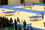 L to R) Koki Niwa, Ai Fukuhara, MARCH 5, 2013 : Ai Fukuhara played table tennis with Koki Niwa at Tokyo Metropolitan Gymnasium, Tokyo, Japan. The IOC evaluation commission, led by Reedie, began a four-day inspection of Tokyo's bid to host the 2020 Olympics. (Photo by Yusuke NakanishiAFLO SPORT)
