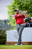 Jon Rahm (ESP) watches his tee shot on 6 during round 6 of the World Golf Championships, Dell Technologies Match Play, Austin Country Club, Austin, Texas, USA. 3/26/2017.<br /> Picture: Golffile | Ken Murray<br /> <br /> <br /> All photo usage must carry mandatory copyright credit (&copy; Golffile | Ken Murray)