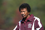 04 November 2007: A&M head coach Salah Yousif. The Alabama A&M University Bulldogs defeated the Duke University Blue Devils 4-3 at Koskinen Stadium in Durham, North Carolina in an NCAA Division I Men's Soccer game.