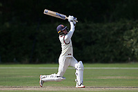 Will Buttleman hits 6 runs for Brentwood during Brentwood CC vs Wanstead and Snaresbrook CC, Essex Cricket League Cricket at The Old County Ground on 12th September 2020