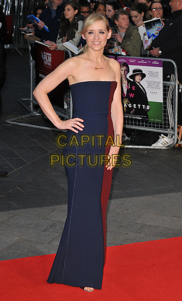 Anne-Marie Duff attends the 59th BFI London Film Festival 2015 &quot;Suffragette&quot; opening gala, Odeon Leicester Square cinema, Leicester Square, London, England, UK, on Wednesday 07 October 2015. <br /> CAP/CAN<br /> &copy;Can Nguyen/Capital Pictures