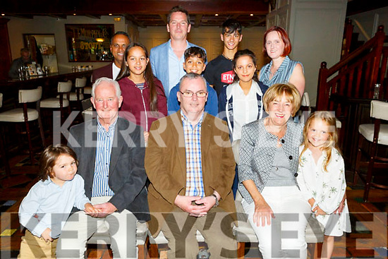 Muiris O'Connor from Oakpark celebrating his 50th birthday in the Meadowlands Hotel on Saturday.<br /> Seated l to r: Sean, Muiris, Kay, James and Livie O'Connor.<br /> Back l to r: Jay, Aoibhinn and Oisin Sookarry, Eoin O'Connor, Ciara and Sean Sookarry and Sinead O'Connor.