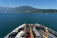 Horseshoe Bay from the Bowen Island Ferry, British Columbia, Canada