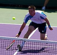Robin SODERLING (SWE) against Peter LUCZAK (AUS) in the seocnd round of the men's singles. Soderling beat Luczak 7-6 6-0..International Tennis - 2010 ATP World Tour - Sony Ericsson Open - Crandon Park Tennis Center - Key Biscayne - Miami - Florida - USA - Sat 27 Mar 2010..© Frey - Amn Images, Level 1, Barry House, 20-22 Worple Road, London, SW19 4DH, UK .Tel - +44 20 8947 0100.Fax -+44 20 8947 0117