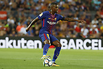 Semedo in action during La Liga game between FC Barcelona v Betis at Camp Nou