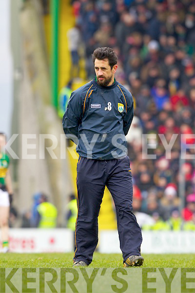 Paul Galvin Kerry in action against \\ Cork in the National Football League at Austin Stack park, Tralee on Sunday.