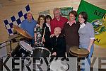 Jema Walsh, Donal Walsh, Debbie Moriarty (Make a Wish), Deirdre O'Brien (Make a  Wish), Declan Dowling (Irish Cabin Company), Elma and Finbarr Walsh.