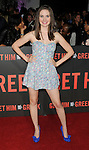 "LOS ANGELES, CA. - May 25: Alison Brie  arrives at the ""Get Him To The Greek"" Los Angeles Premiere at The Greek Theatre on May 25, 2010 in Los Angeles, California."