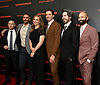 Hugh Jackman and producers attend the New York Premiere of &quot;The Front Runner&quot; on October 30, 2018 at MOMA in New York, New York, USA.<br /> <br /> photo by Robin Platzer/Twin Images<br />  <br /> phone number 212-935-0770