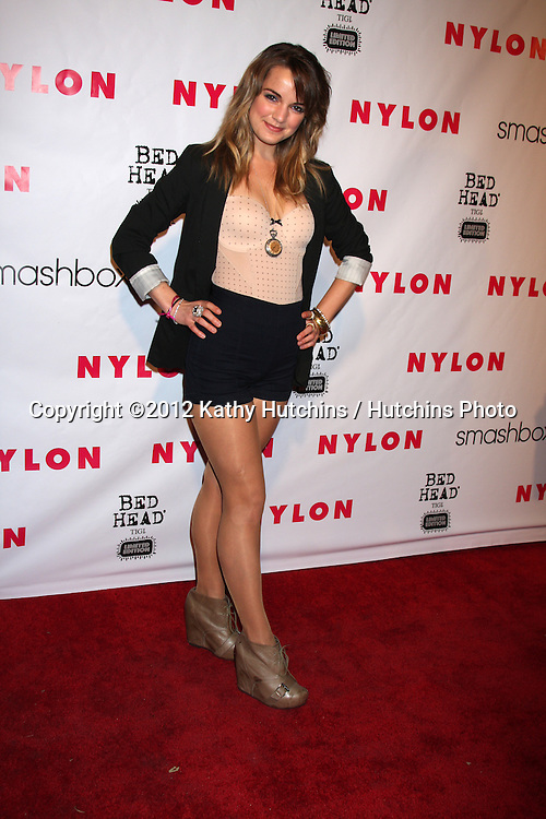 LOS ANGELES - APR 10:  Laura Leigh arrives at the NYLON Magazine 13th Anniversary Celebration at Smashbox on April 10, 2012 in Los Angeles, CA