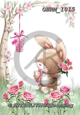 Roger, CUTE ANIMALS, LUSTIGE TIERE, ANIMALITOS DIVERTIDOS, paintings+++++_RM-1617-2035,GBRM1015,#ac# ,everyday