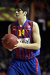 Marko Todorovic.  FC Barcelona Regal vs Fenerbahce Ulker: 100-78 - Top 16 - Game 1.
