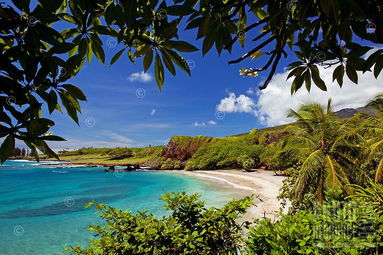 Beautiful day at Hamoa Beach, Maui.