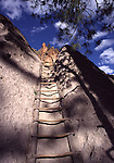 ladder at Bandelier NM, Alcove House
