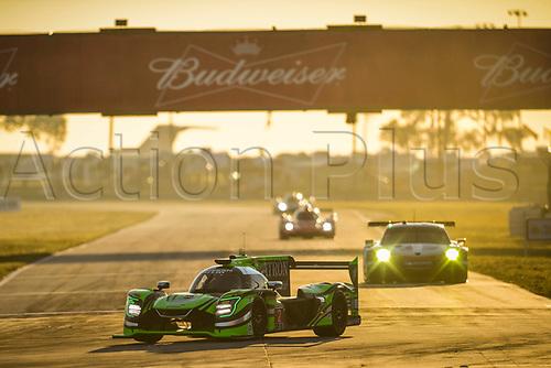 March 18th, 2017; Sebring, Florida, USA; 12 Hours of Sebring Weathertech Sportscar championship;  #2 TEQUILA PATRON ESM (USA) NISSAN ONROAK DPI SCOTT SHARP (USA) RYAN DALZIEL (GBR) LUIS FELIPE DERANI (BRA)