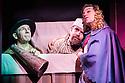 London, UK. 02.12.2013. SJC Productions present DICKENS ABRIDGED at the Arts Theatre. Picture shows: Matthew Hendrickson (Mr Warren), Damian Humbley (Charles Dickens), Jon Robyns (Ellen Ternan). Photograph © Jane Hobson.
