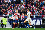 Kieran Trippier of Atletico de Madrid during La Liga match between Atletico de Madrid and Sevilla FC at Wanda Metropolitano Stadium in Madrid, Spain. March 07, 2020. (ALTERPHOTOS/A. Perez Meca)