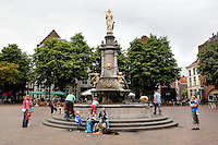 Wilhelmina fontein in Deventer