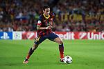 UEFA Champions League 2013/2014.<br /> FC Barcelona vs AFC Ajax: 4-0 - Game: 1.<br /> Neymar Jr.