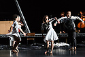 "London, UK. 30.11.2017. Michael Keegan-Dolan's company, Teac Damsa, returns to Sadler's Wells, with his adaptation of ""Swan Lake/ Loch na hEala"". The dancers are: Zen Jefferson, Anna Kaszuba, Saku Koistinen, Alexander Leonhartsberger, Mikel Murfi (actor), Erik Nevin, Rachel Poirier, Carys Staton, Molly Walker. Photograph © Jane Hobson."
