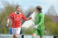 VOETBAL: JOURE: 30-04-2016, SC Joure - SV Mulier, uitslag 2-1, Folkert van der Wei (SV Mulier), ©foto Martin de Jong