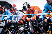 Mathieu van der Poel (NED)  pre race focus <br /> <br /> Men's Elite race<br /> UCI 2020 Cyclocross World Championships<br /> Dübendorf / Switzerland<br /> <br /> ©kramon