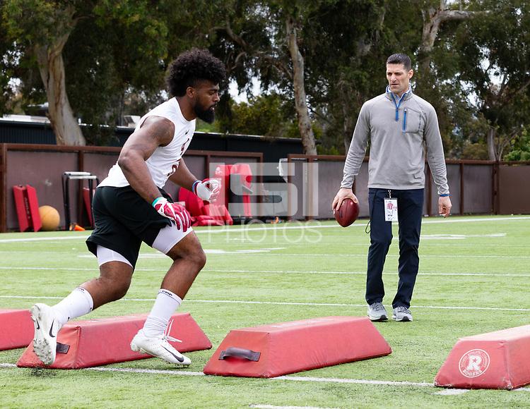 Stanford, California - April 4, 2019: Stanford Pro Timing Day in Stanford, California.