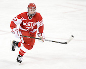 Tara Watchorn (BU - 27) - The Boston College Eagles defeated the Boston University Terriers 2-1 in the opening round of the Beanpot on Tuesday, February 8, 2011, at Conte Forum in Chestnut Hill, Massachusetts.
