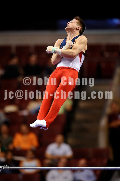 6/19/08 - Photo by John Cheng for USA Gymnastics.  Olympic Trials Day 1 Men Competition take place at Wachovia Center in Philadelphia.