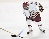 Brock Bradford - The Boston College Eagles completed a shutout sweep of the University of Vermont Catamounts on Saturday, January 21, 2006 by defeating Vermont 3-0 at Conte Forum in Chestnut Hill, MA.