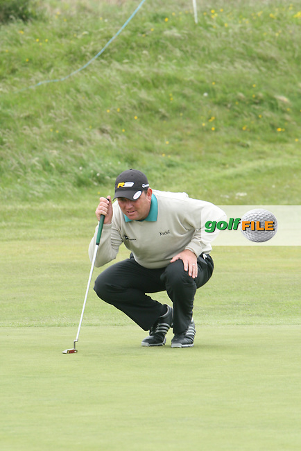 Gary Murphy during the Pro-Am at the Irish Open in Co.Louth Golf Club,  Baltray...Photo NEWSFILE/Jenny Matthews.(Photo credit should read Jenny Matthews/NEWSFILE)....This Picture has been sent you under the condtions enclosed by:.Newsfile Ltd..The Studio,.Millmount Abbey,.Drogheda,.Co Meath..Ireland..Tel: +353(0)41-9871240.Fax: +353(0)41-9871260.GSM: +353(0)86-2500958.email: pictures@newsfile.ie.www.newsfile.ie.FTP: 193.120.102.198.