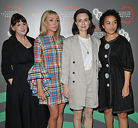 "Heidi Thomas, Helen George, Jennifer Kirby and Leonie Elliott at the ""Call the Midwife"" BFI & Radio Times Television Festival screening, BFI Southbank, Belvedere Road, London, England, UK, on Sunday 14th April 2019.<br /> CAP/CAN<br /> ©CAN/Capital Pictures"
