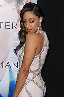 "WESTWOOD, LOS ANGELES, CA, USA - APRIL 10: Tia Mowry at the Los Angeles Premiere Of Warner Bros. Pictures And Alcon Entertainment's ""Transcendence"" held at Regency Village Theatre on April 10, 2014 in Westwood, Los Angeles, California, United States. (Photo by Xavier Collin/Celebrity Monitor)"