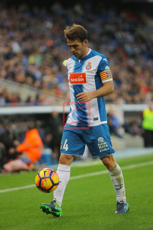 League Santander 2016/2017. Game: 11.<br /> RCD Espanyol vs Athletic Club: 0-0.<br /> Victor Sanchez.