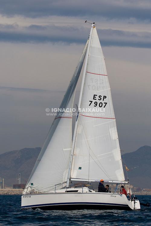 ESP7907 Carey - 61 Trofeo Magdalena - Cruceros - Real Club Náutico de Castellón - 1-2/3/2008 - Castellón, España