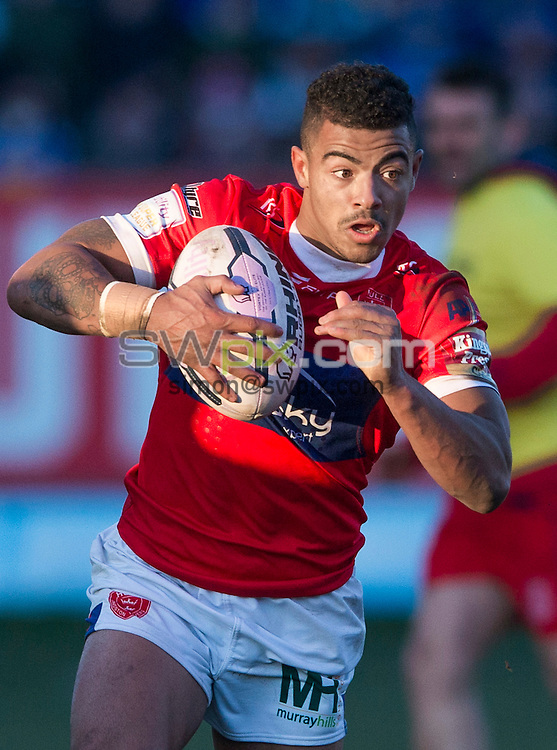Picture by Allan McKenzie/SWpix.com - 08/02/2015 - Rugby League - First Utility Super League - Hull Kingston Rovers v Leeds Rhinos - KC Lightstream Stadium, Hull, England - Hull KR's Kieran Dixon.