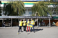 A general view of Franklin's Gardens, home of Northampton Saints with Clermont Auvergne fans<br /> <br /> Photographer Stephen White/CameraSport<br /> <br /> European Rugby Challenge Cup - Northampton Saints v Clermont Auvergne - Saturday 13th October 2018 - Franklin's Gardens - Northampton<br /> <br /> World Copyright © 2018 CameraSport. All rights reserved. 43 Linden Ave. Countesthorpe. Leicester. England. LE8 5PG - Tel: +44 (0) 116 277 4147 - admin@camerasport.com - www.camerasport.com