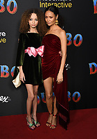 11 March 2019 - Hollywood, California - Nico Paker, Thandie Newton. &quot;Dumbo&quot; Los Angeles Premiere held at Ray Dolby Ballroom. Photo <br /> CAP/ADM/BT<br /> &copy;BT/ADM/Capital Pictures
